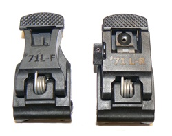 ARMS 71L-F/R Set Front & Rear Sight Set