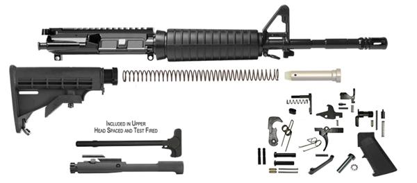Del Ton Inc Ar 15 16 Quot M4 Rifle Kit