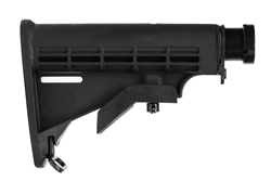 AR-15 M4 Mil-Spec CAR Buttstock Assembly - Black
