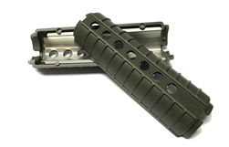 AR-15 CAR Round Handguards - Green