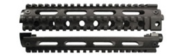 Two Piece 4 Rail Mid-Length Handguards