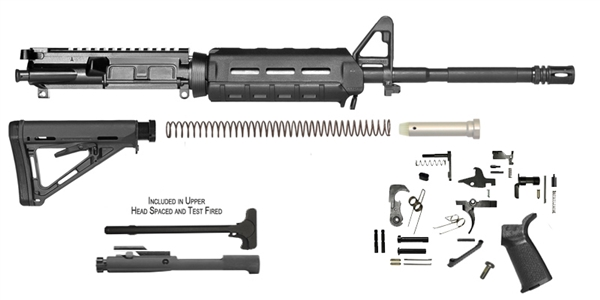 16 M4 Carbine Magpul Mlok Rifle Kit