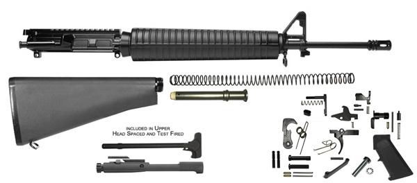 20'' Lightweight Rifle Kit