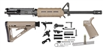 "16"" 1x8 Medium Contour Carbine Magpul MLOK Rifle Kit"