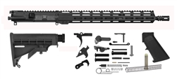 "16'' 1x7 Light Weight Mid Length Rifle Kit w/ 15"" MLOK Handguard"