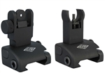YHM QDS Front & Rear Flip Up Sights - Set