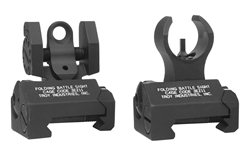 AR-15 Troy Micro - HK Front & Rear Folding Sight Set